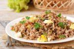 Каша гречневая с яйцами
