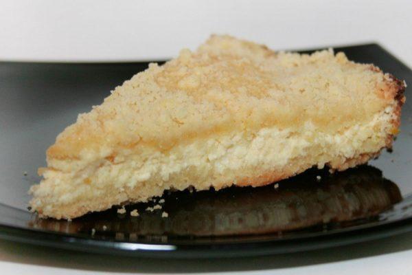 Песочно-творожный пирог