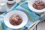 Шоколадно-рисовый десерт