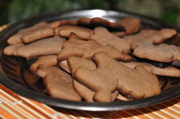 печенье фигурками