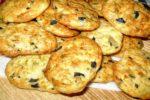 Сырное печенье с творогом
