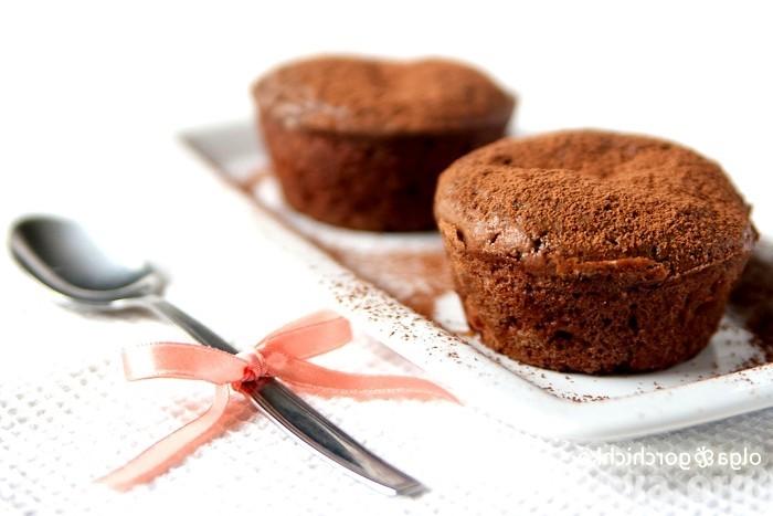шоколадный кекс на молоке
