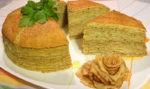 Блинный торт — сладкие и несладкие начинки