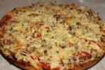 Ленивая пицца на кефире