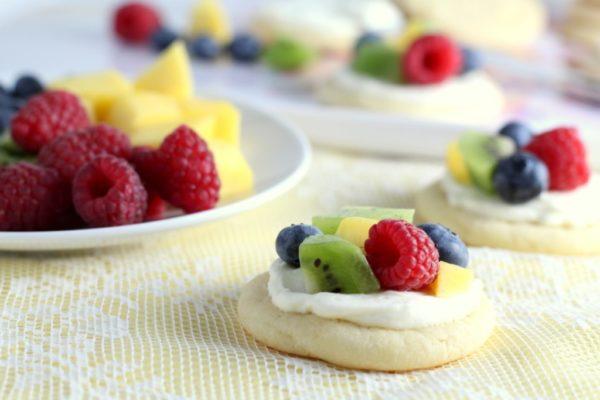 Печенье с фруктами