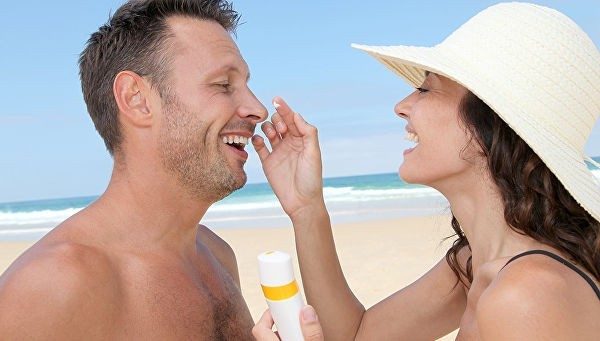 злоупотребление солнцезащитным кремом