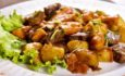 Жаркое по-домашнему с картошкой, грибами и мясом