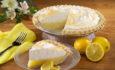 Лимонный пирог из песочного  теста с меренгой